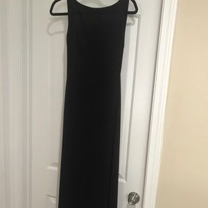 Gently used black Laundry gown.